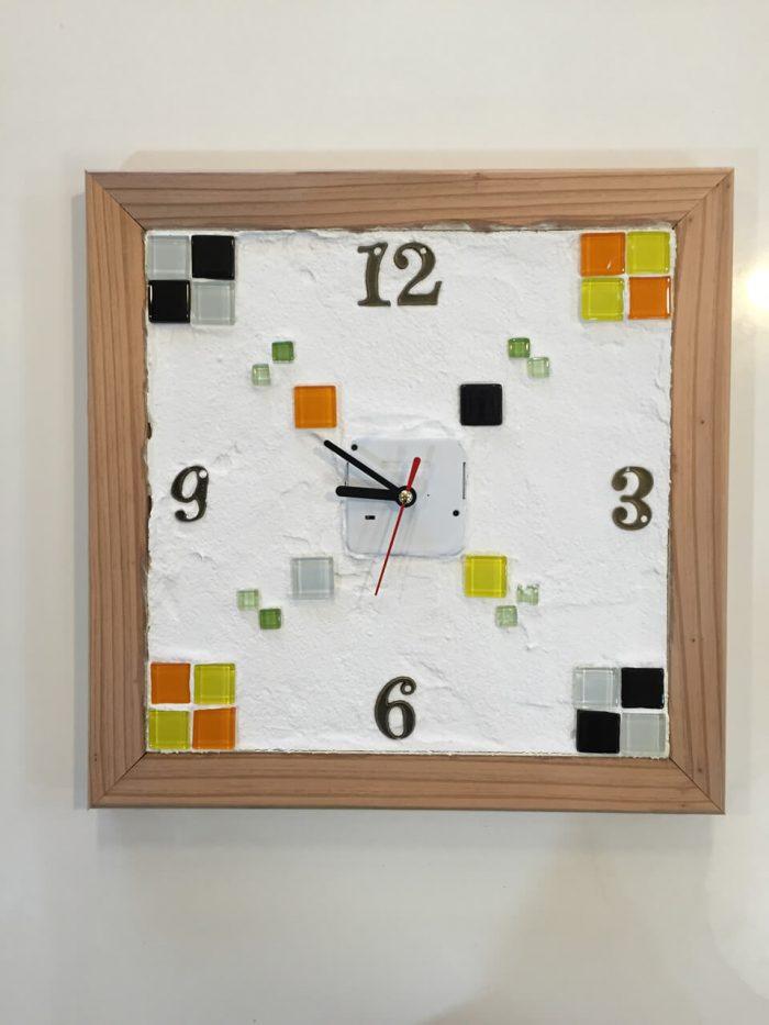 しっくい掛け時計2016年バージョン