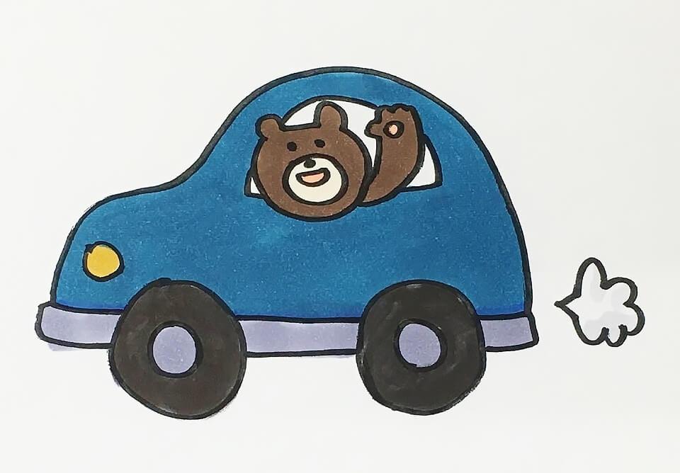 車がやってきた!