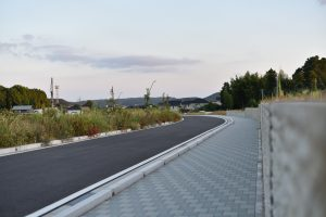 西部台の道路