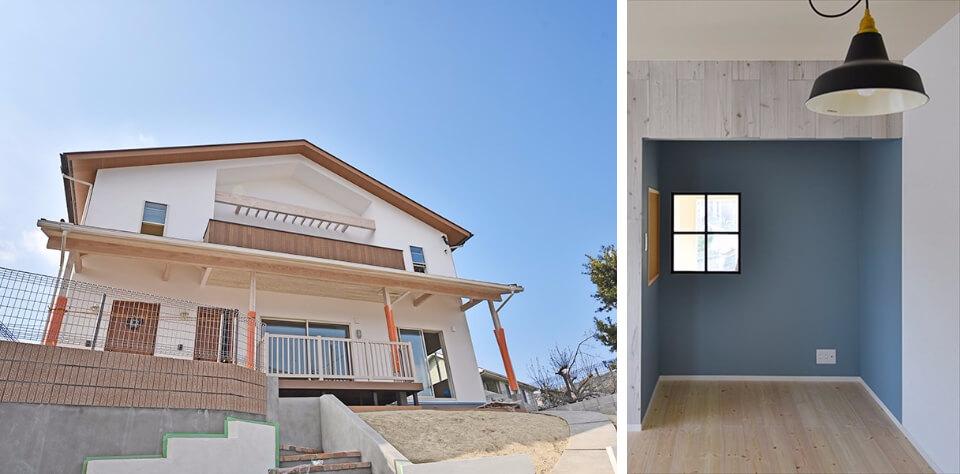今週末は、『Blue wind HOUSE~西海岸風の家~』 予約見学会