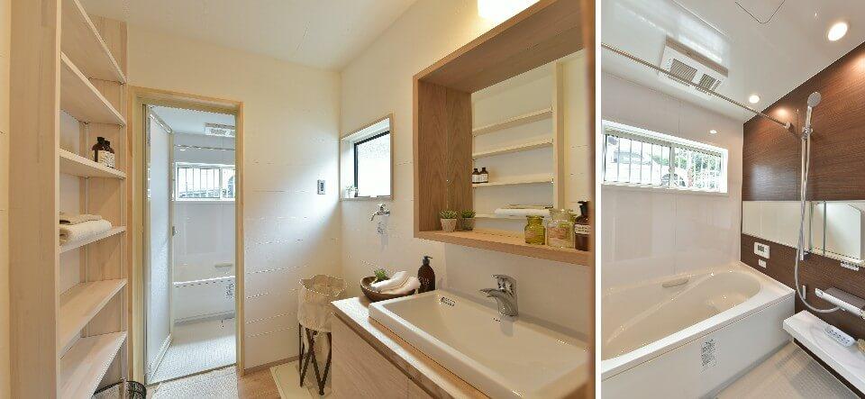 キッチン横が洗面脱衣室やと洗濯動線が良い?