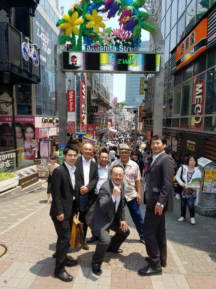 2週連チャンの東京行き。